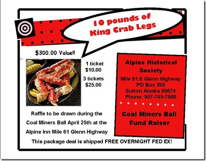 Crab Fund Raiser 5